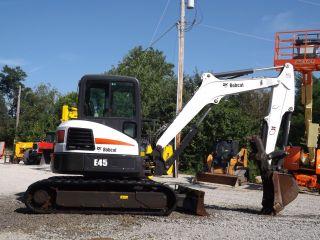 Bobcat E45 Excavator photo