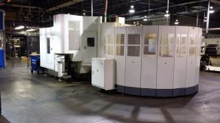 Kitamura Mycenter Hx400if Cnc Horizontal Machining Center W/ 8 Station Pallet 07 photo