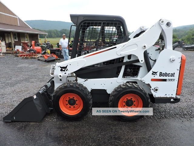 2014 Bobcat S530 M Series Rubber Tire Skid Steer Loader Turbo Diesel