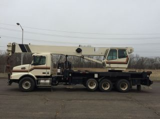 2003 Volvo With National 33 - Ton Model 14127 Boom Truck photo