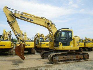 2011 Komatsu Pc228us - 8,  Pc200 - 8,  Pc200lc - 8,  Pc200 - 7,  Pc200lc - 7,  Cat 320dl,  320d, photo