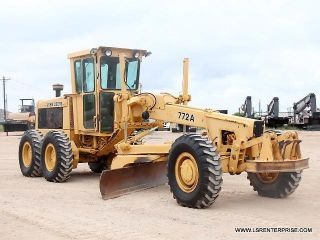 1981 John Deere 772a - Motor Grader - Road Maintainer - Grader - Deere - Cat - 28 Pics photo
