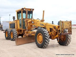 1982 John Deere 772a - Motor Grader - Road Maintainer - Grader - Deere - Cat - 34 Pics photo