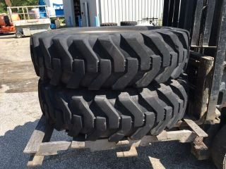 Telehandler Foam Filled Wheels And Tires photo
