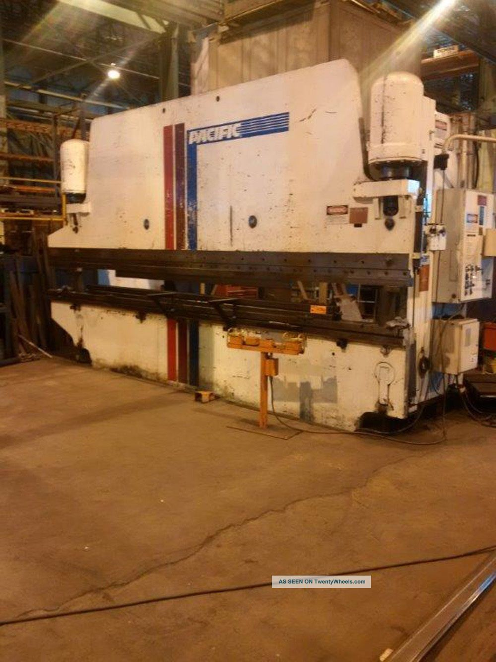 Pacific 300 Ton Cnc Hydraulic Press Brake | X 20 ' 7327p Metal Bending Machines photo