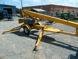 2006 Bil - Jax 3632t 42 ' Work Height Tow Behind Man Lift photo