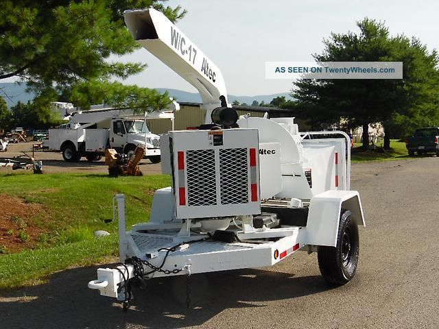 Altec W/c 17 Wood Chipper 4cyl John Deere Diesel Wood Chippers & Stump Grinders photo