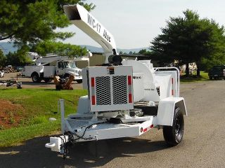 Altec W/c 17 Wood Chipper 4cyl John Deere Diesel photo