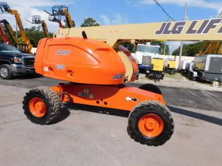 2006 Jlg 400 - S Aerial Boom Man 40ft Bucket Lift 4x4 - Fleet Maintaned Dual Fuel photo