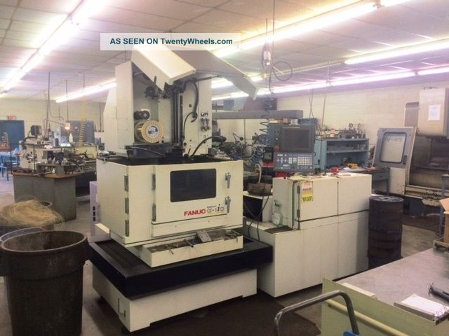 Fanuc Robocut Alpha 1ic Cnc Wire Edm EDM Machines photo