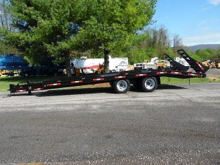 1987 Butler 23 ' 10 - Ton T/a Tagalong Equipment Trailer photo