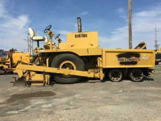 Blawknox Pf180 Asphalt Paver photo