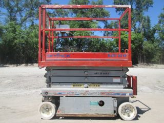 2006 Skyjack Sjiii3219 Scissor Lift Manlift Boom Aerial Lift Platform Lift photo