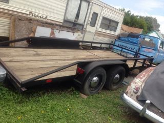 2004 Hmd 16ft Trailer Tires Lights And Floor Treated Yearly photo