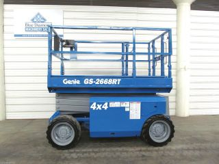 2008 Genie Gs 2668rt Scissor Lift,  26 ' Platform,  Boom,  Jlg,  Skyjack,  Aerial photo