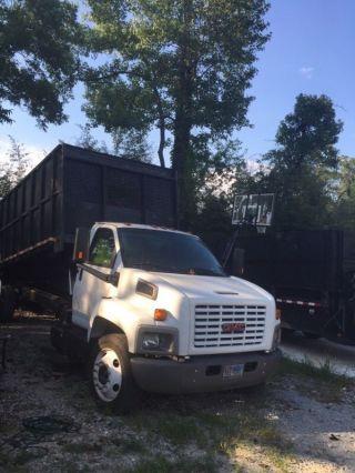 2003 Gmc Dump Truck photo