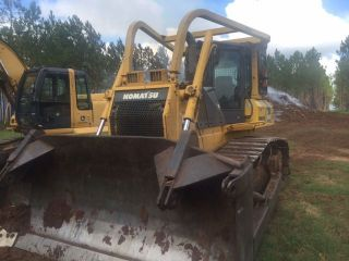 2007 Komatsu D65ex - 15 Cab Bulldozer With Root Rake Included photo