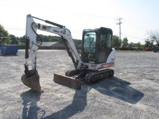 2001 Bobcat 334 Mini Excavator W/cab photo