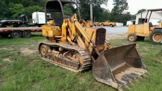 John Deere 450c Crawler Loader photo