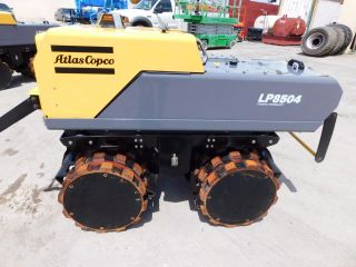 2014 Atlas Copco Lp8504 - Remote Control Trench Compactor - Padfoot Tandem Drums photo