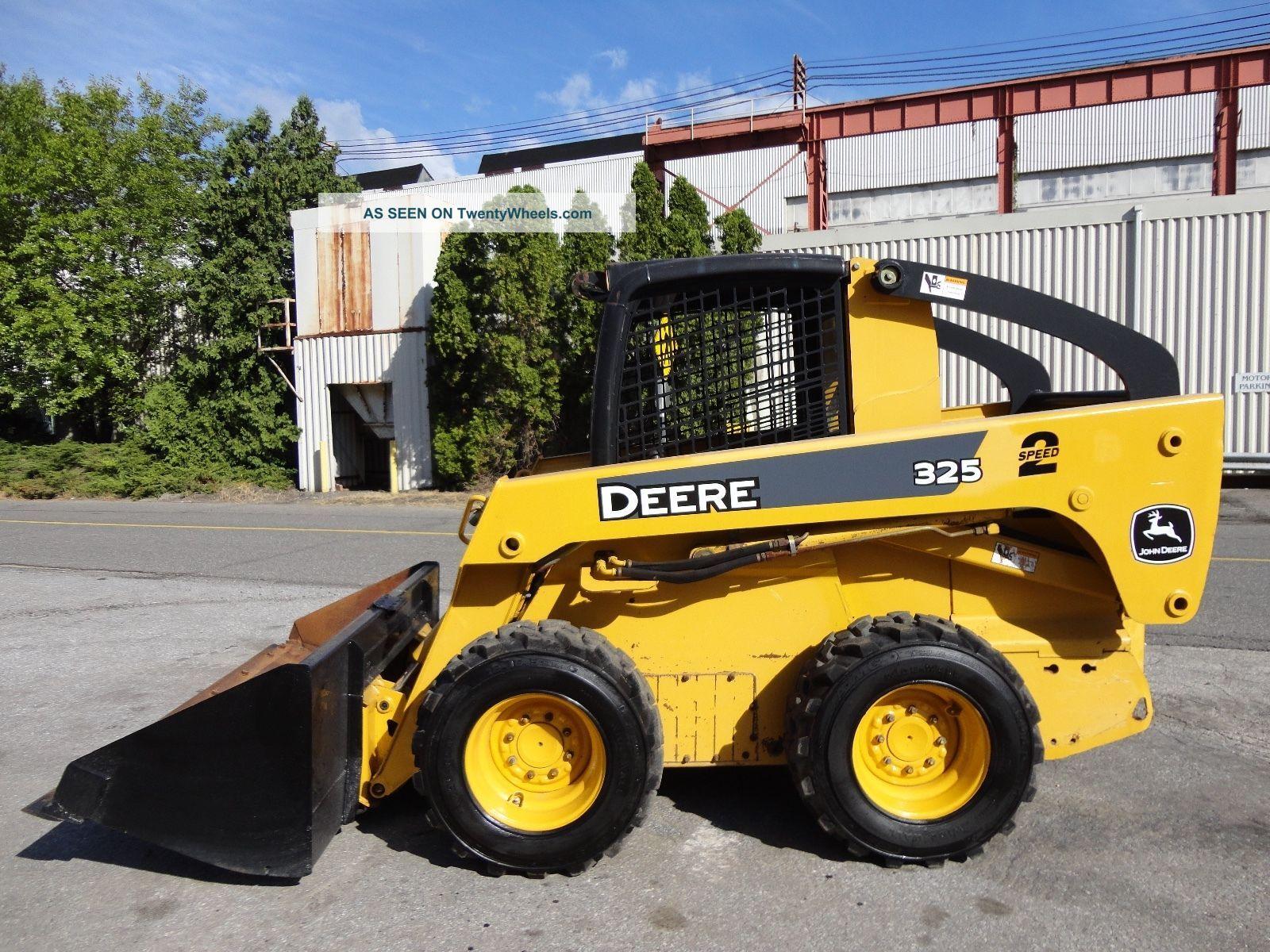 John Deere Skid Steer Attachments : John deere speed wheel skid steer tires diesel