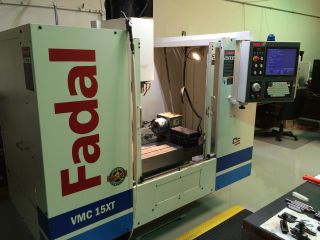 2005 Fadal Vmc 15xt 4 - Axis Cnc Vertical Machining Center Mill 15hp Ct 40 photo