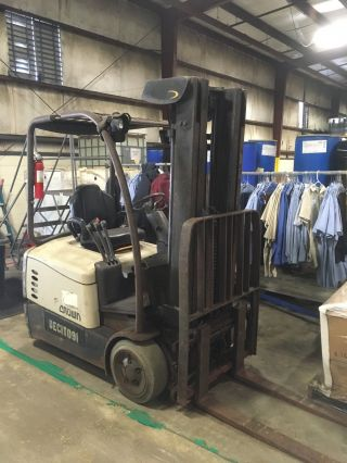 Forklifts photo