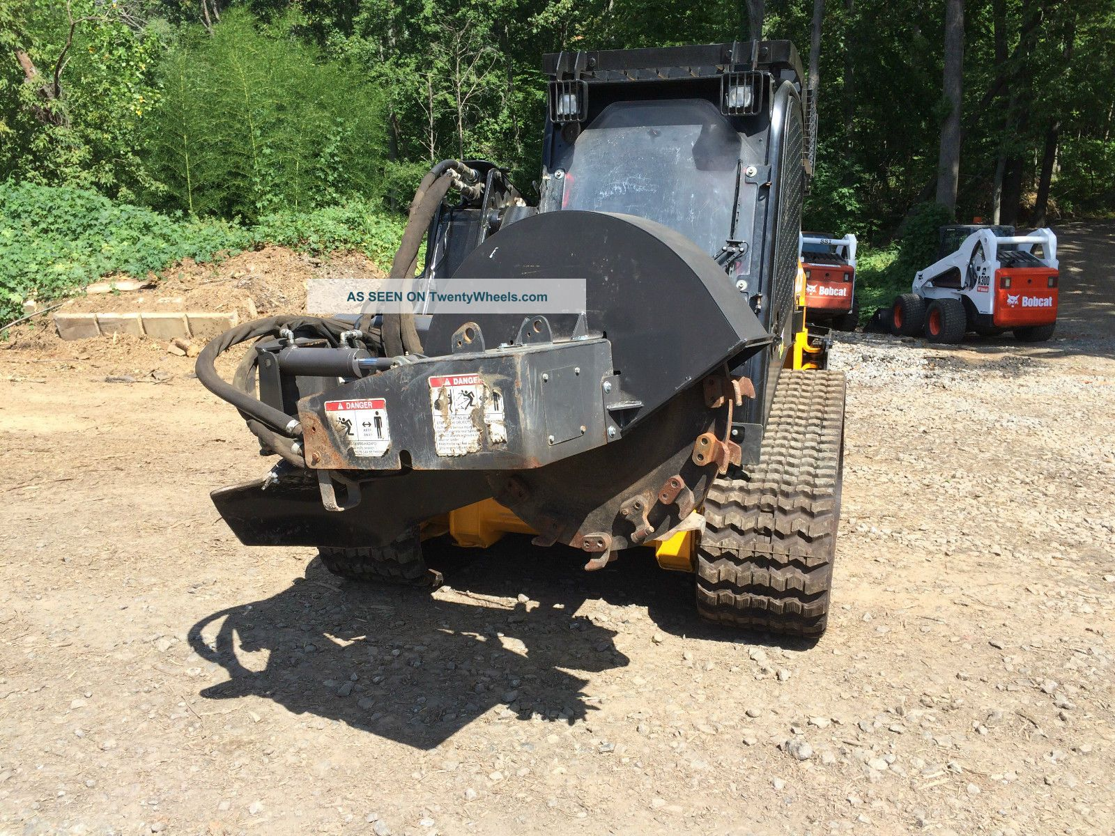 Bradco Sg60 Stump Grinder Attachment For High - Flow Skid Steer Wood Chippers & Stump Grinders photo