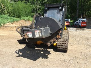 Bradco Sg60 Stump Grinder Attachment For High - Flow Skid Steer photo