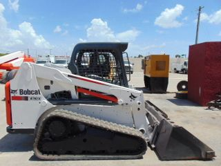 2013 Bobcat T - 630 75 Hp Turbo Skid Steer Track Loader - Kubota Diesel photo
