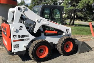 Bobcat Skid Steer Loader Model S650 A51 Heat Ac 2 Speed Under 100 Hours photo