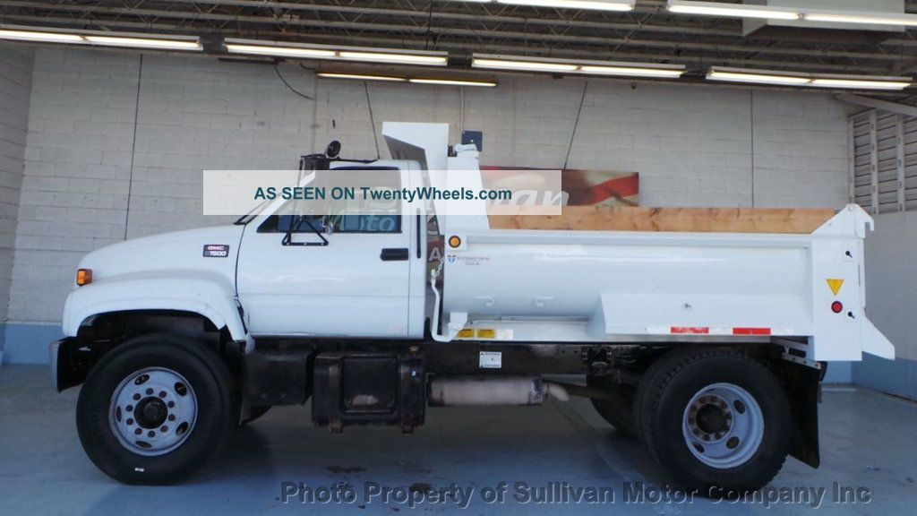 2000 Gmc C7500 Dump Truck