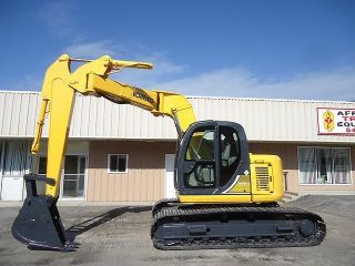 2003 Kobelco Sk135srlc Excavator Sk 135 Zero Tail Swing Z Offet Boom Option photo