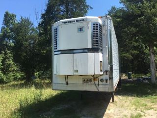 1998 Utility Reefer Trailer 48 ' Thermo King Unit 102