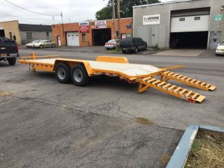 Equipment Trailer 20 ' L X 6 ' - 10