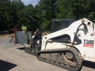 Bobcat 8a Hi Flow Wood Chipper Attachment For Skid Steer photo