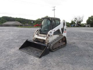 2005 Bobcat T190 Tracked Skid Steer Loader W/cab photo