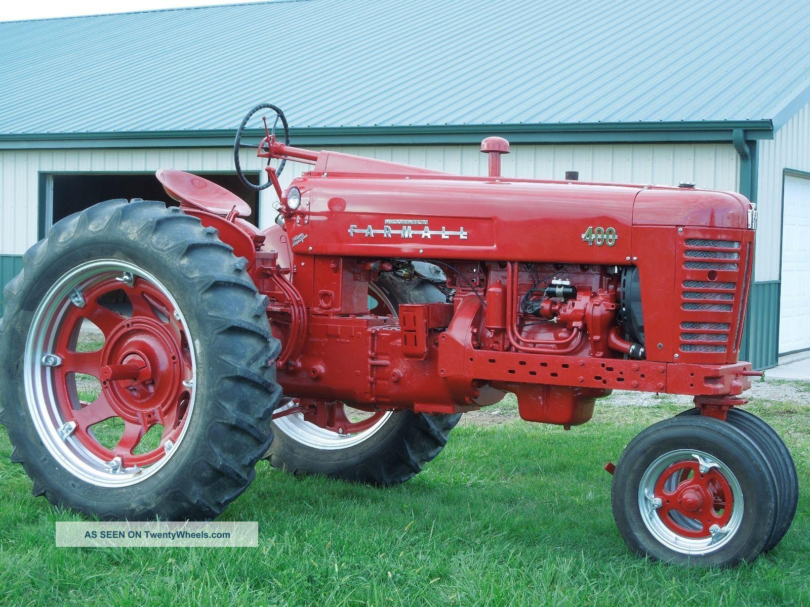 Farmall 400 Tractor : Farmall tractor