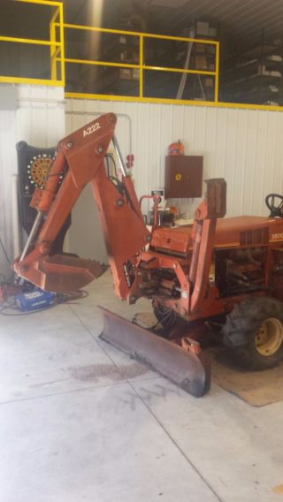 Ditch Witch 3500 Trencher With Backhoe photo