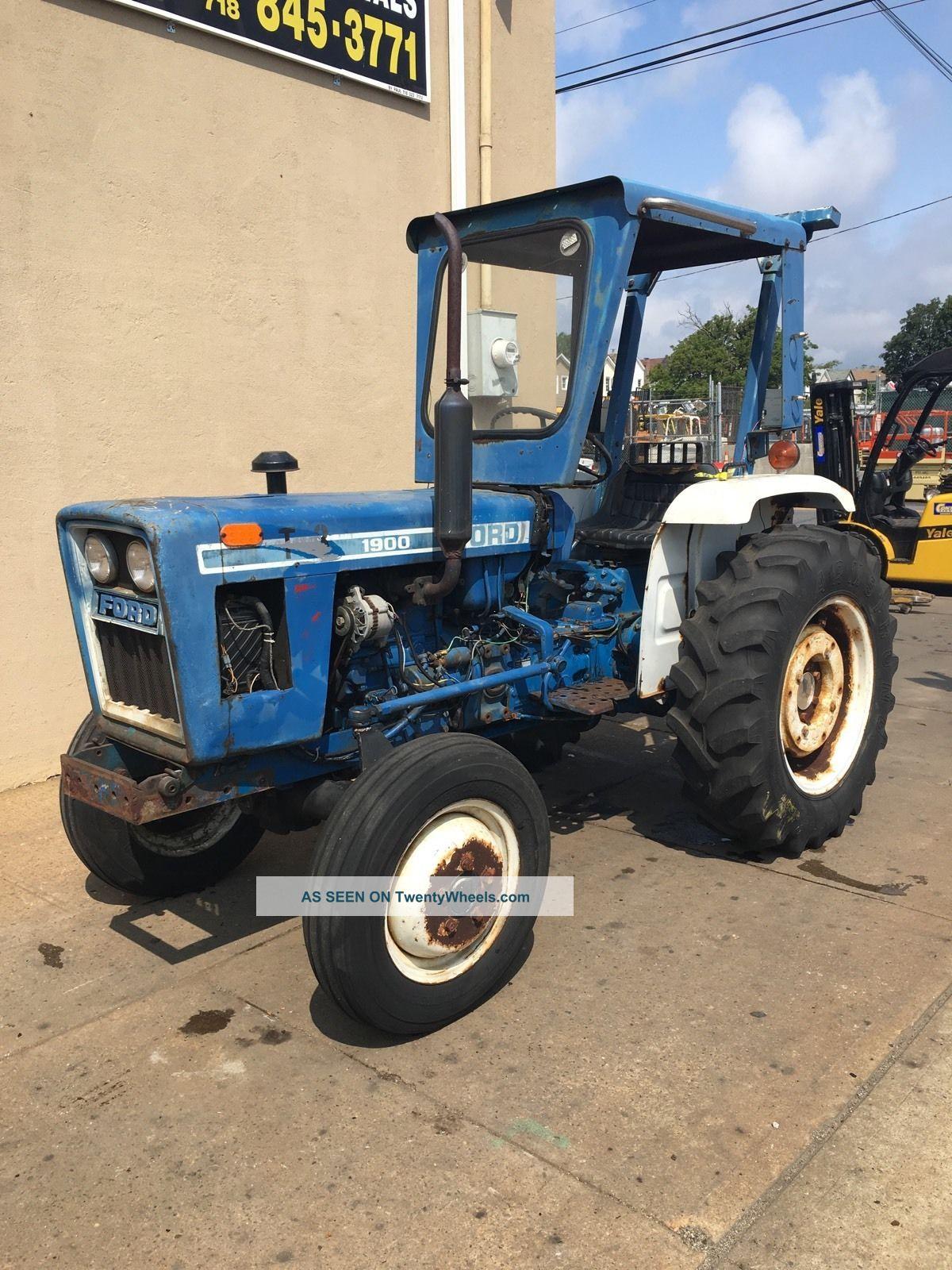 2 Wheel Tractor 1900 : Ford farm tractor