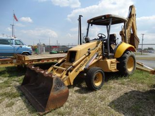 1996 Holland 555e Backhoe - 2446 photo
