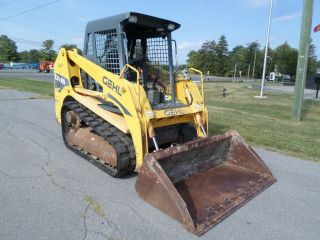 2007 Gehl Ctl65 Compact Skid Steer Loader Rubber Track Loader 2 - Speed photo