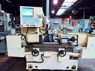 Mitsubishi R230 Cnc Cylindrical Grinder Meldas Magic 64 Cnc Control photo