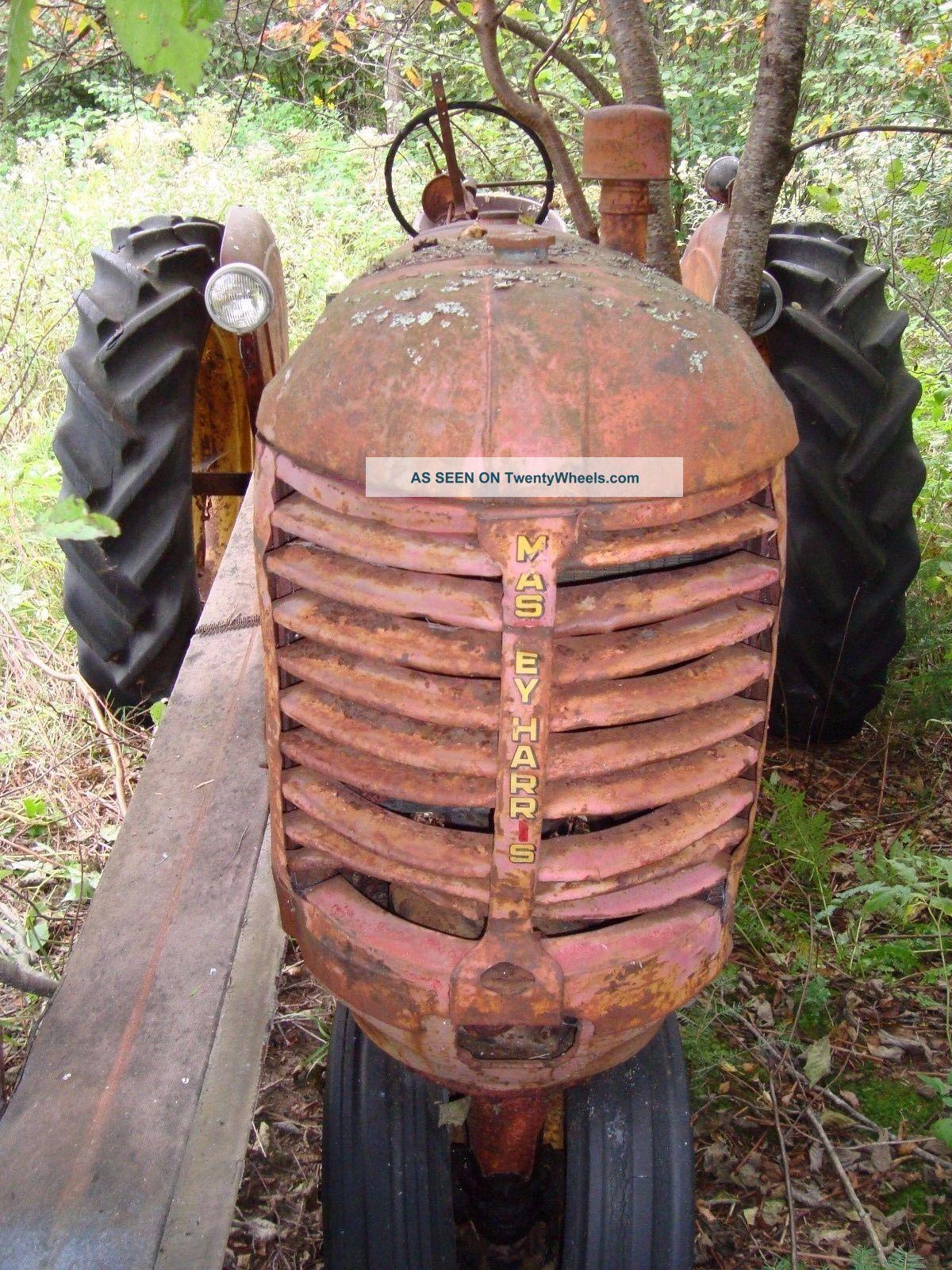 Tractor Restoration Projects : Massey harris sr rc tractor restoration project