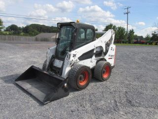 2012 Bobcat S750 Skid Steer Loader W/cab photo