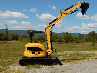 2006 Caterpillar 305c Mini Excavator With Hydraulic Thumb Turbo Diesel photo