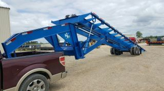 40 ' Gooseneck Container Trailer photo