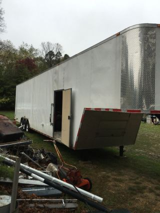 Enclosed Gooseneck Trailer photo