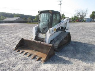 2010 Bobcat T630 Tracked Skid Steer Loader W/cab photo