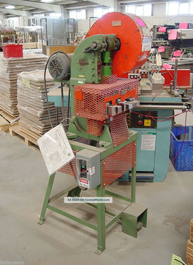 Alva Allen 5 Ton Obi Punch Press 7320p See more Alva Allen 5 Ton OBI Punch Press #7320p photo